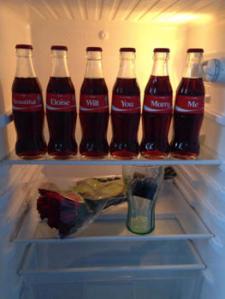 coke bottles marry