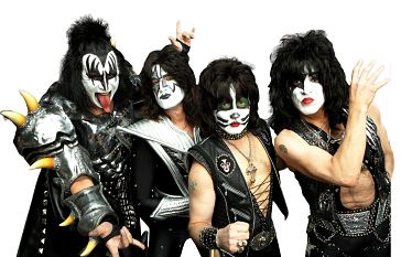 Why the makeup? Maybe they're born with it, maybe it's an ugly Gene (Simmons)